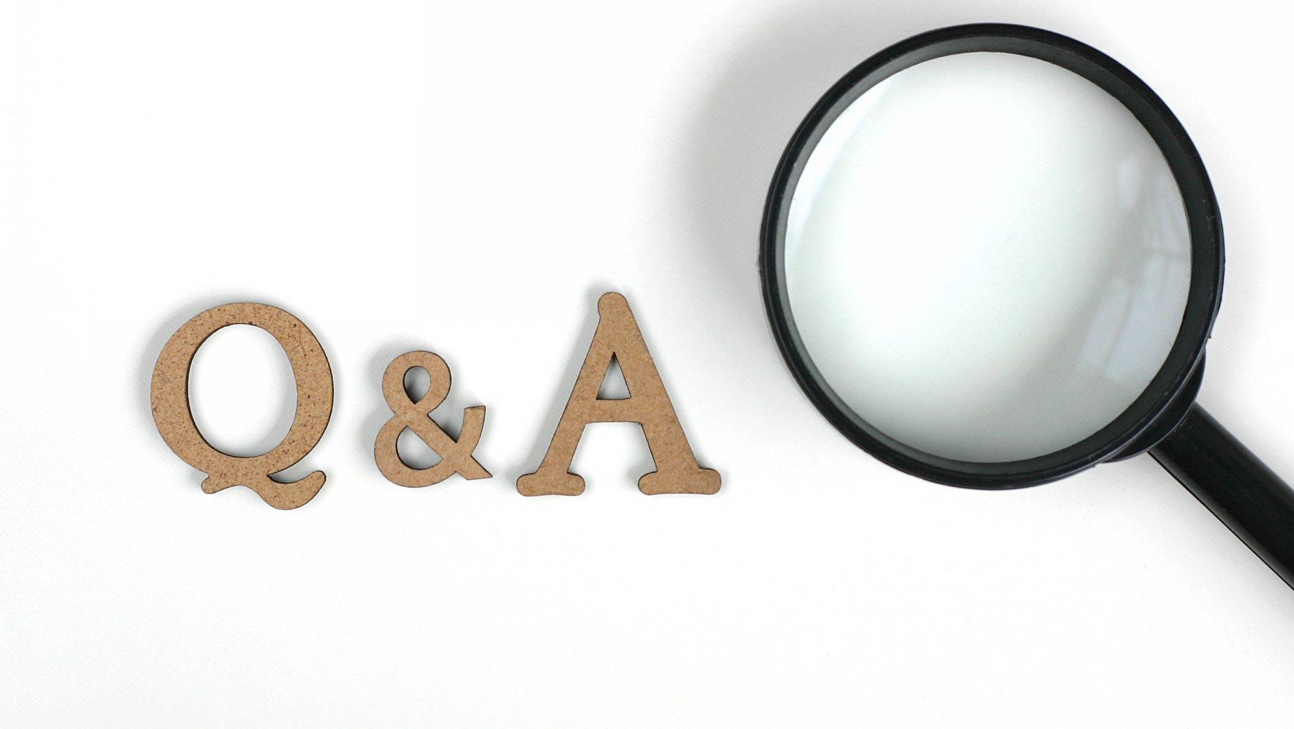 Q &A 虫眼鏡