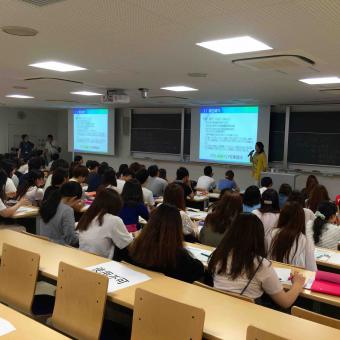 千葉 杏林大学講演風景
