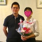 ご成婚の声19(須藤様・38歳女性・活動5ヶ月)