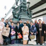 日本橋でお花見イベントを開催しました。