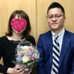ご成婚の声26(長谷川様・35歳女性・活動6ヶ月)