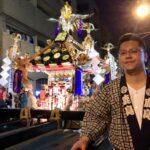 中島の仕事後(浅草三社祭)