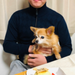 愛犬(チワワ)の誕生日会