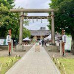 夏越しの大祓で浅草神社へ
